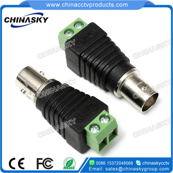 BNC Female Adapter with Screw Terminal for CCTV (CT121)