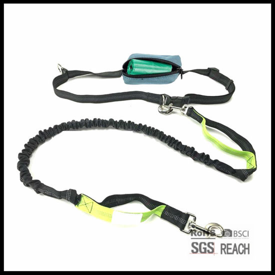 Reflective Safety Extendable Hands Free Running Dog Leads pictures & photos
