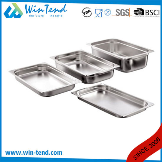 Stainless Steel Perforated Gastronorm Gn Container Pan pictures & photos