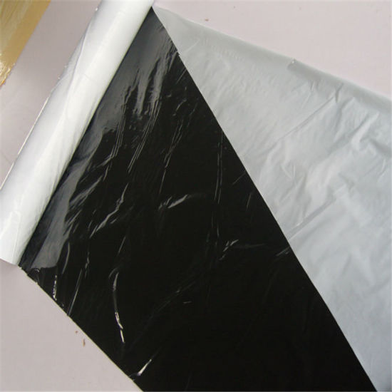 Greenhouse Agriculture Plastic Film Black or White Plastic Mulch Films pictures & photos