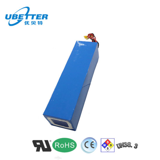 18650 24V 80000mAh Lithium Ion Battery for E-Scooter
