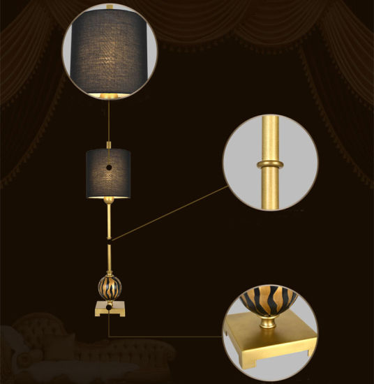 Modern Light Ancient Luxurious Brass Floor Lamp for Hotel pictures & photos