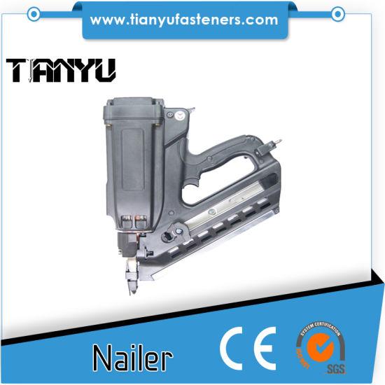 China Gfn3490 34 Degree Cordless Gas Framing Nailer - China Nailer ...