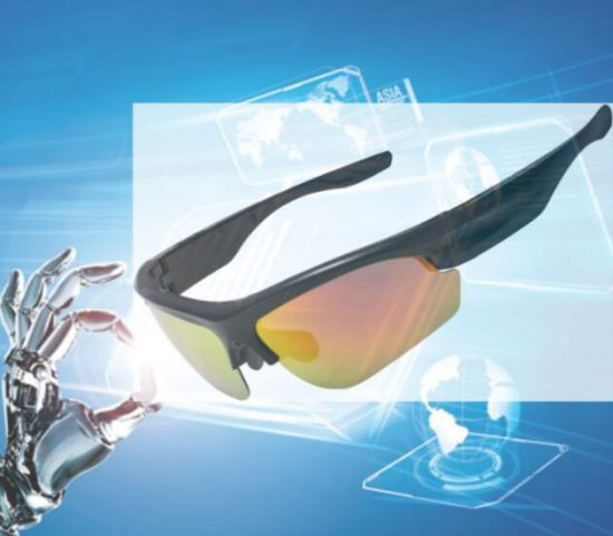5a6ffb72da8a Polarized Interchangeable Lenses Touch Button Headset Bluetooth Sunglasses  pictures   photos
