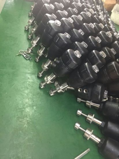 Thread Pneumatic Angle Seat Valves pictures & photos