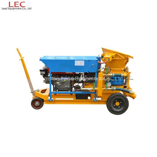 Lz-3D Dry Mix Gunite Diesel Engine Shotcrete Machine Concrete Sprayer