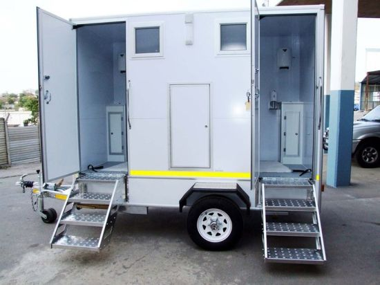 Modular Prefabricated Mobile Trailer Toilet pictures & photos