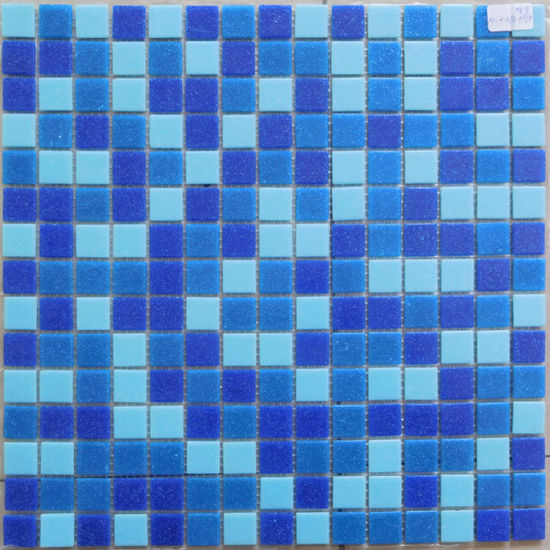 Mosaic Tiles Blue Glass Mosaic for Swimming Pool pictures & photos