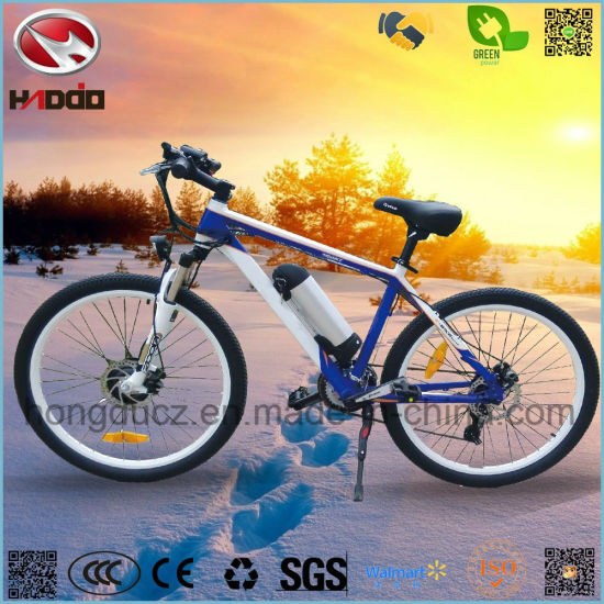 40f44d5c603 250W Lithium Battery Electric Bicycle LCD Display Pedal MTB Bike for Sale  pictures & photos