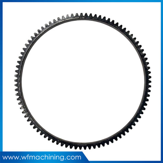 OEM Mild Steel En18 1.1186 Cold Forging Engine Flywheel Ring Gear Parts pictures & photos