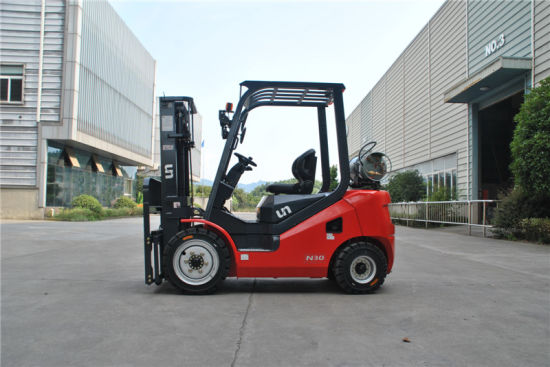 New Series Un 3.0 Ton LPG and Gasoline Forklift Double Fuel Forklift with GM Engine pictures & photos