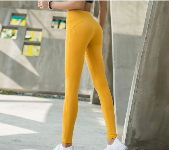 High Quality Lycra Active Wear Leggings Sports Pants Workout Leggings