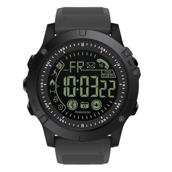 Bluetooth Remote Pedemeter Take Photo Ultra-Long Standby Waterproof IP68 Sport Men Wrist Smart Watch