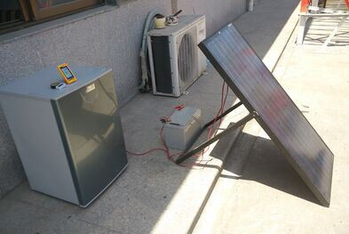 12V/24V DC Solar Power Freezer Refrigerator 118L pictures & photos