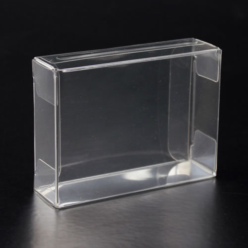 High Quality Foldable Gift Clear Plastic Packaging Box