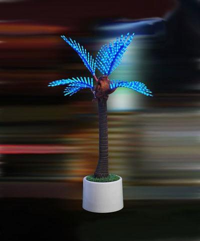 LED Coconut Palm Tree Landscape Light