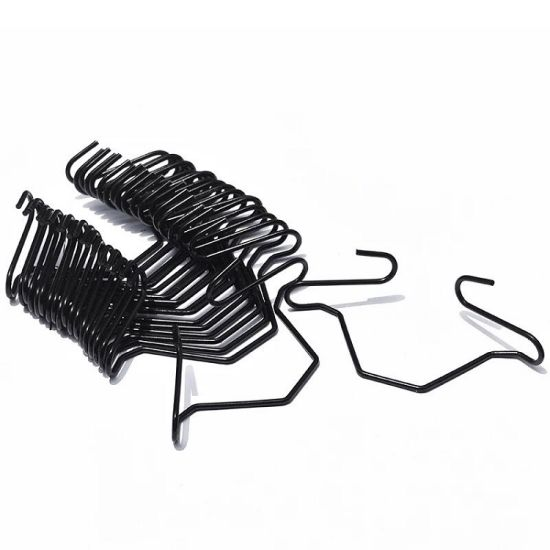 Greenhouse Plastic Coated Spring Double Hook Clips for Lock Film Spring Clips for Round Pipes