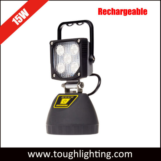 Ce Approved IP67 15W Portable Rechargeable LED Camping Light