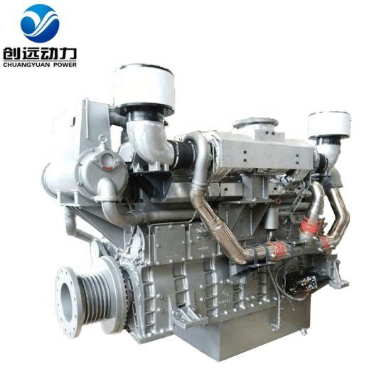 Shanghai Diesel Engine Coltd Sc15g Series 6 Cylinder New Marine Diesel  Engine
