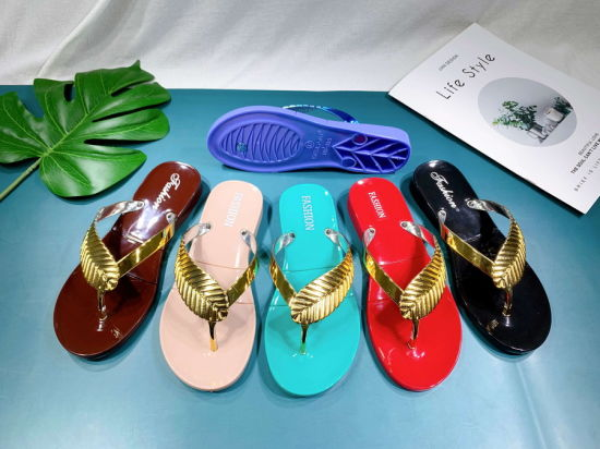 PVC Jelly Lady Slipper 2021 Summer Shoes