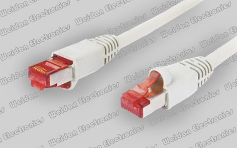 ETL/Delta Approved CAT6A Patch Cord LAN Cable Wirh Shielded 8p8c Plug pictures & photos