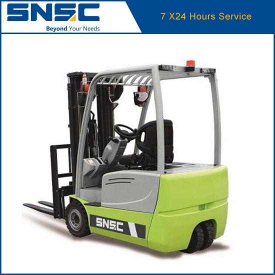 Snsc 1.6 Ton Three Wheel Electric Forklift