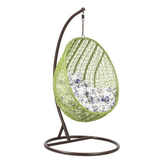 High Quality Garden Balcony Outdoor Hanging Egg Shaped Rattan Wicker Swing