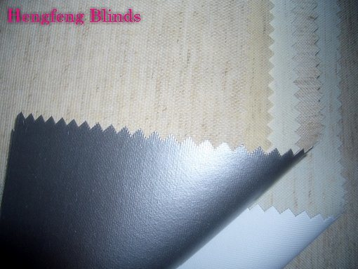 Linen Blackout Roller Blinds Fabric  (JP0503 series) pictures & photos