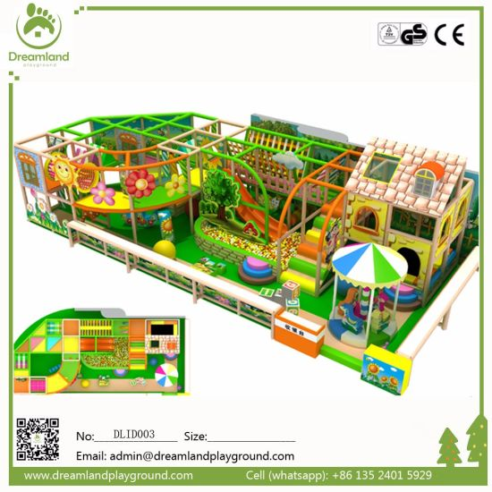 Amusement Park Jungle Theme Kids Indoor Playground for Sale pictures & photos