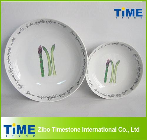 Factory Direct Wholesale Round Ceramic Pasta Bowl (4082903)