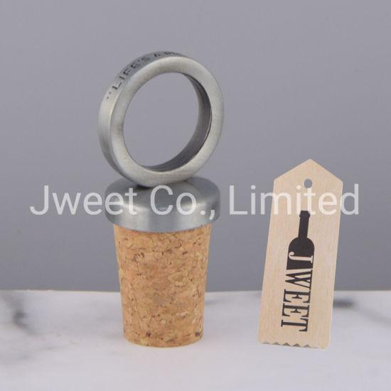 Wine Bottle Cap Customized Ring Design Metal Cap Lid