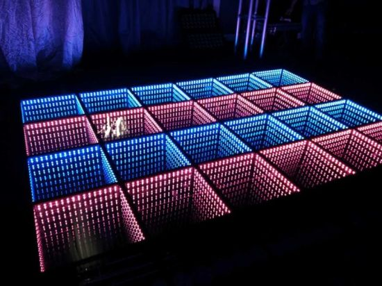 Professional Stage Visual Impact RGB 3D LED Disco Panel Tile Dancing Floor Light & China Professional Stage Visual Impact RGB 3D LED Disco Panel Tile ...