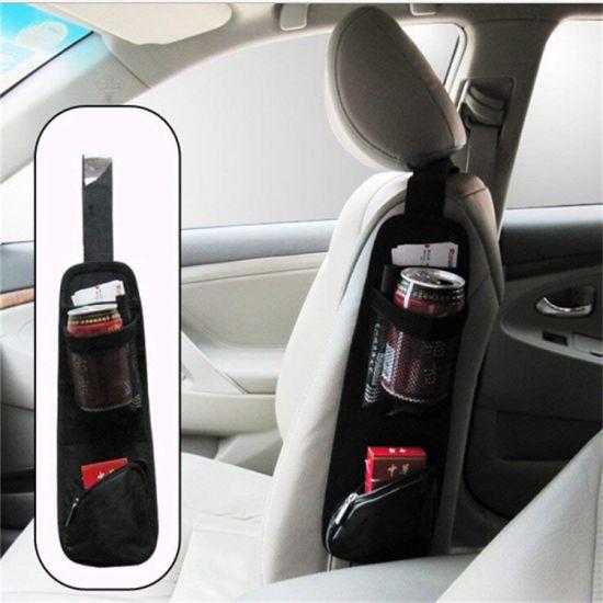Waterproof Fabric Car Auto Backseat Hanging Storage Bag Car Seat Side Pocket Organizer