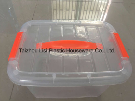 5-27L High Trans PP Plastic Storage Box with Handls pictures & photos
