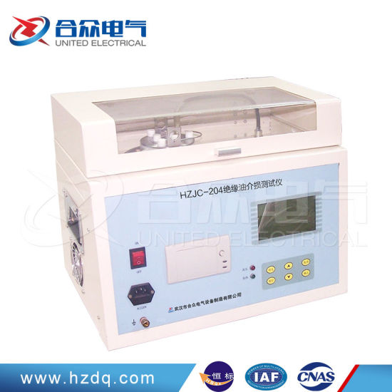 Automatic Portable Transformer Insulation Oil Dielectric Loss Tan Delta Test pictures & photos