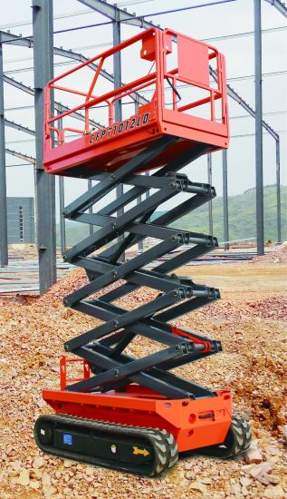 Hydraulic Battery Power Mini Small Electric Scissor Lift with Ce ISO Certification