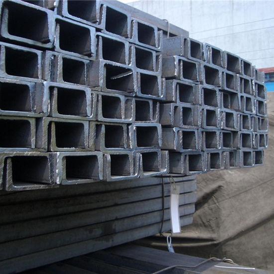 China Supplier S235jr Standard Ms Steel U Chart Channel