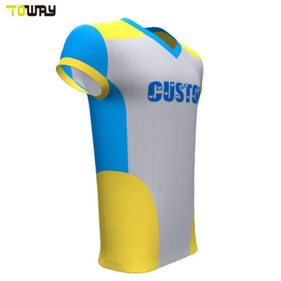 2be9ca66 China Custom Fashion Flag Football Jerseys Wholesale - China ...