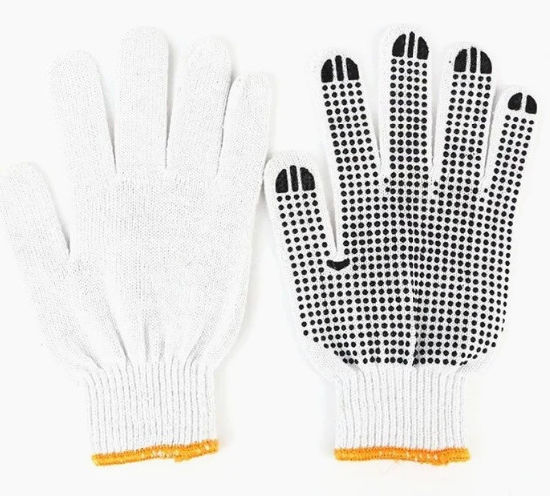 Rubber Dotted Cotton Gloves/Work Gloves /Safety Gloves/Labor Gloves