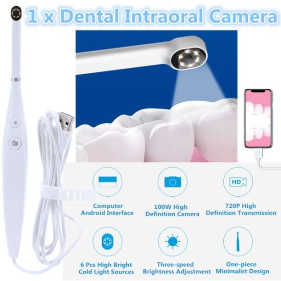 China Usb Oral Inspection Intraoral Camera Waterproof Led Light