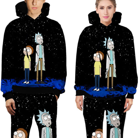 All Over Print Unisex Hoodies Trousers