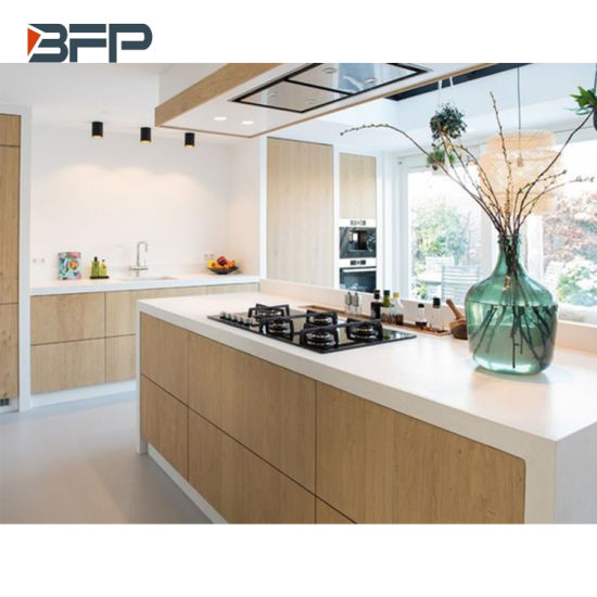 China High End Kitchen Cabinet With, Finishing Kitchen Cabinet Ends