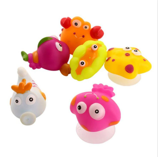 Eco-Friendly Promotional Sea Animal Baby Bath Squirt Toys pictures & photos