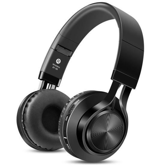 a60c644955d0 2019 Ebay Amazon Bt-06 Wireless Headphones Low Bass Headset Support TF Card  for iPhone MP3. Get Latest Price