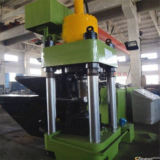 The Newly Designed Iron Pricing Machine Aluminum Scrap Briquetting Press Machine