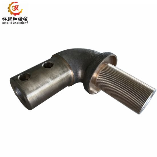 Customized Galvanized Pipe Fitting with Sand Casing