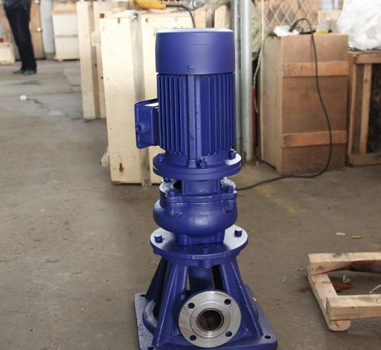 Lw Vertical Non-Clogging Sewage Pump pictures & photos