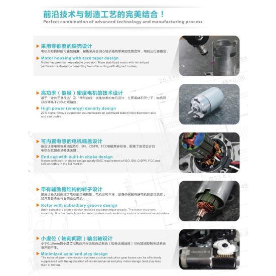 [Hot Item] 12V Electric Motor RS-555sh-6513 DC Motor for Cordless Drill  Motor