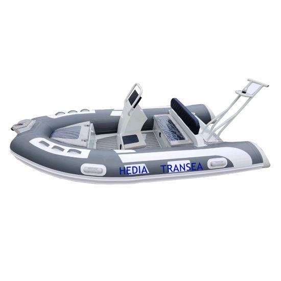 Luxury Semi Rigid Inflatable Boat Rib 360 Made in China