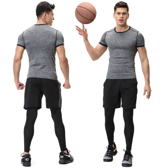 OEM Factory Workout Yoga Fitness Gym Suit for Men Wholesale Sportswear